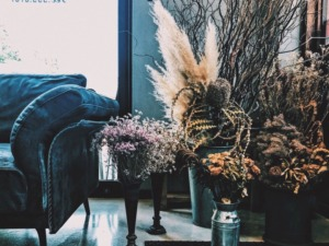 Dry Flower sofa ドライフラワー