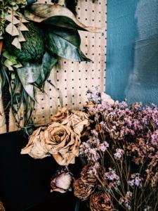 群馬県高崎市のインテリアショップで販売するお洒落なドライフラワー